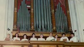 AU JOLY BOYS, Chanson polifonica, Claudin de Sermisy, Pro Musica Antiqua Milano, Dir. Giovanni Vianini, Milano, Italia, anno 1988
