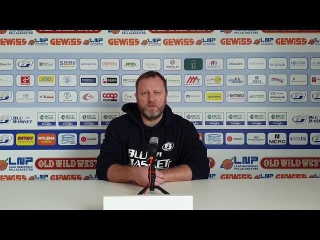 Pre Gara | Coach Cagnardi presenta la gara contro la Staff Mantova