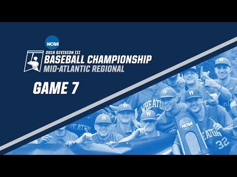 2018 NCAA DIII Baseball Mid-Atlantic Regional - GAME 7