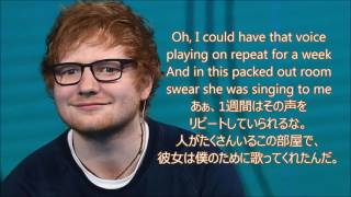 洋楽 和訳 Ed Sheeran - Galway Girl