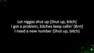 DaBaby - Shut Up (Lyrics)