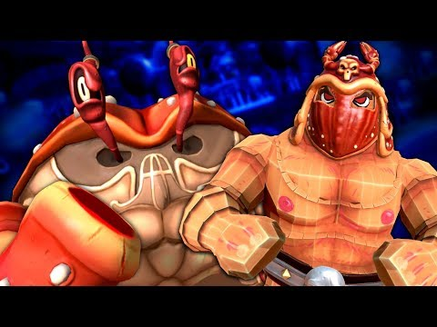 DECLAWING THE CRAB CHAMPION - Gorn (VR) Funny Moments