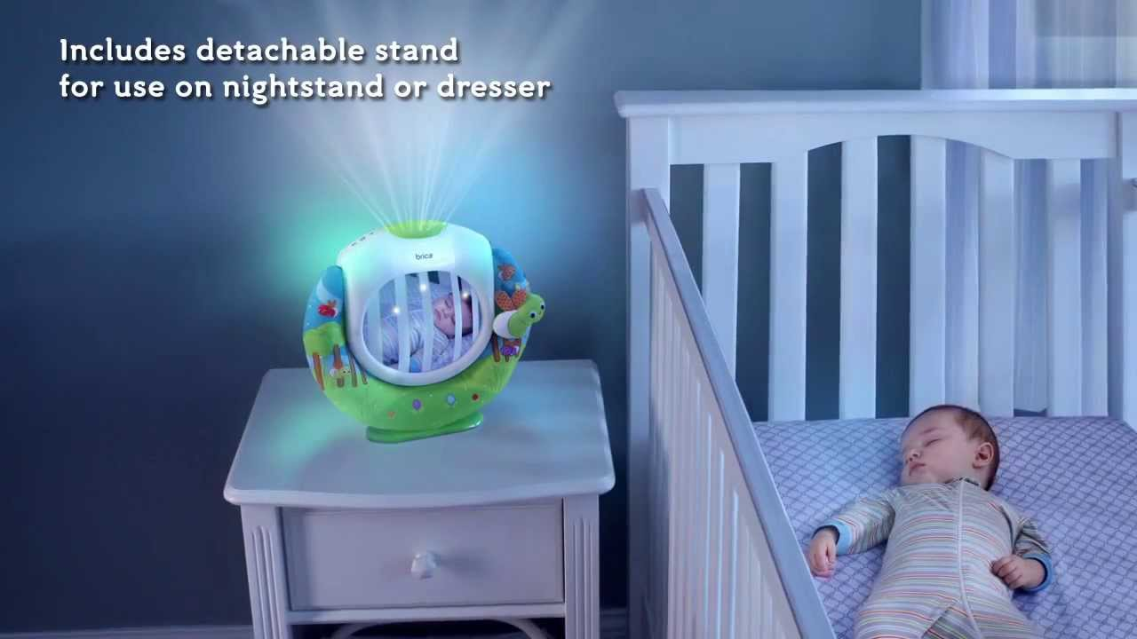 Brica Magical Firefly Crib Soother And Projector Youtube