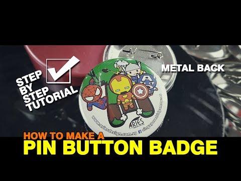 Button Badge Machine