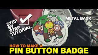 How To Make Button Pins