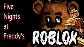 ● Roblox Ep.03 | Five Nights at Freddy's v ROBLOXU!!