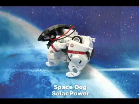 Robot Solar 7 in 1 Rechargeable Space Fleet