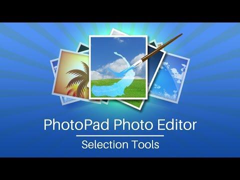 PhotoPad Photo Editor Tutorial | Selection Tools