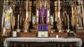 Traditional Latin Mass Altar Explained in Detail YouTube Videos