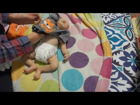 Changing 3 Babies Into New Gymboree Outfits- Nlovewithreborns2011 LITTLE Challenge