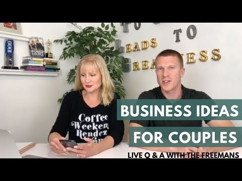 Business Ideas, Law Of Attraction + Balancing Romance & Working Together for Couples: LIVE Q & A