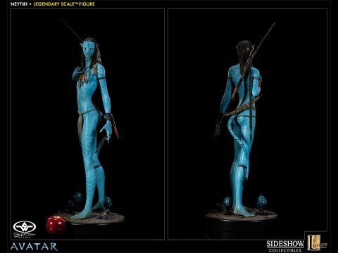 Neytiri (LS) Avatar Polystone Statue By Sideshow Collectibles ~Review #49
