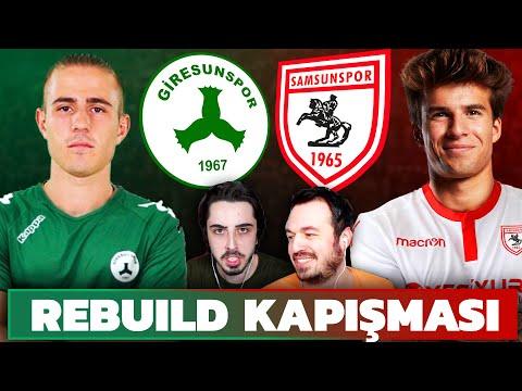 SAMSUNSPOR VS GİRESUNSPOR // LİDERLİK İÇİN REBUILD KAPIŞMASI // FIFA 21 KARİYER