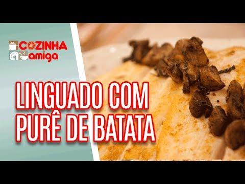 Linguado com purê, rolinhos vietnamitas e bolo inglês - Carla Pernambuco | Cozinha Amiga (29/06/18)