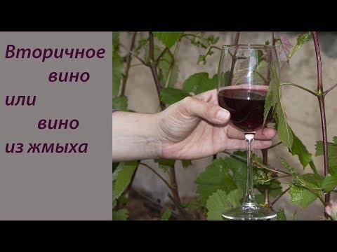 Как делать вторичное вино из винограда в домашних условиях