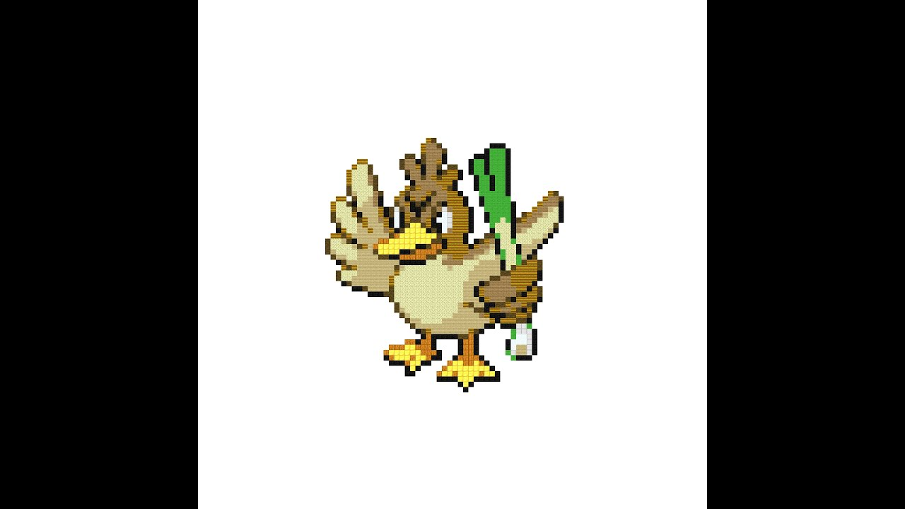 Pokemon Farfetch 27d Images