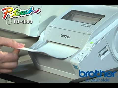 BROTHER TD-4000 DRIVER (2019)