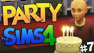 Sims 4 PARTY! Having a Birthday Party on The Sims 4 (Sims 4 Funny Moments) #7 Thumbnail