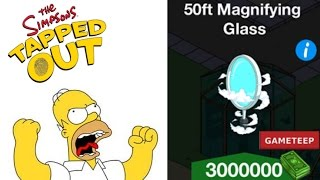 The Simpsons Tapped Out: 50 Foot Magnifying Glass
