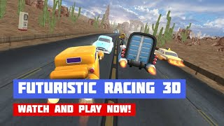 Futuristic Racing 3D · Game · Gameplay