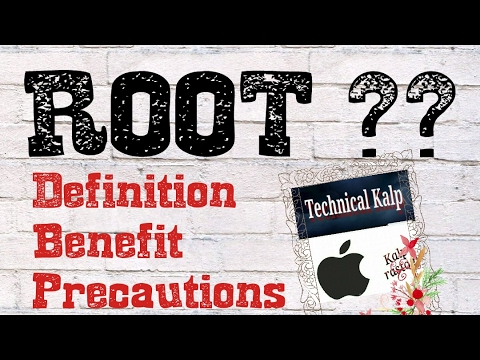 ANDROID ROOT DEFINITION | BENEFIT & PRECAUTIONS | HOW CAN WE ROOT ANDROID PHONE