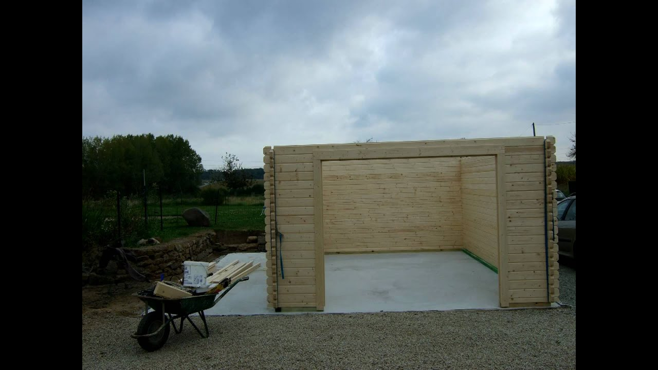 Building A Wooden Garage