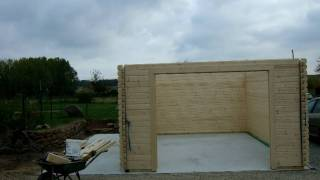 Building A Wooden Garage