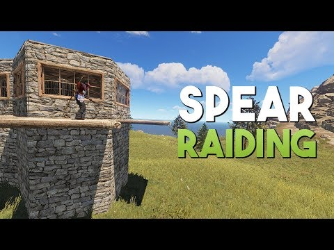 SPEAR RAIDING A CLAN BASE! - Rust Survival