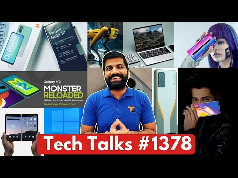 Tech Talks #1378 – OnePlus 9 Pro Launch, Redmi Note 10 Full Specs, Galaxy M12, GalaxyE02, P50 Camera