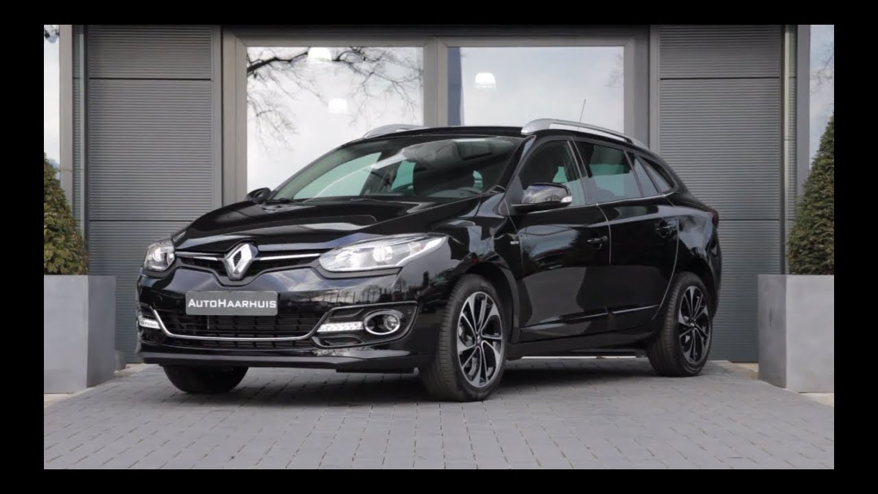 renault megane estate 1 5 dci 110pk bose r link navi youtube. Black Bedroom Furniture Sets. Home Design Ideas
