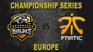 CW vs FNC - 2014 EU LCS Summer W11D1