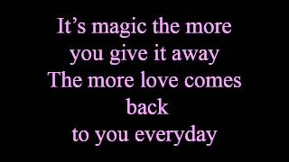 Always more - lyrics