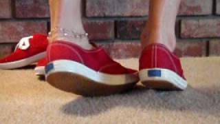 Red Red. I LIKE RED! Keds of Course