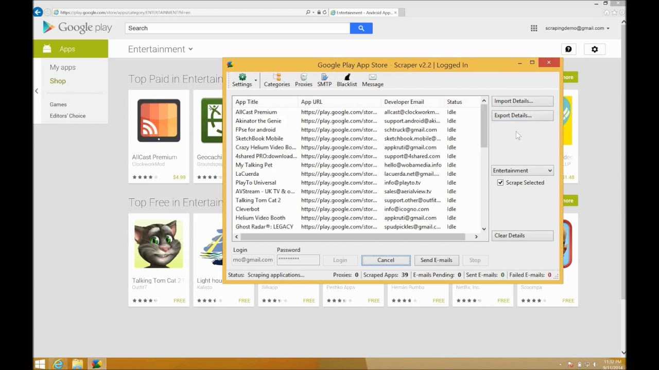 Google Play Data Extractor   Scraping Solutions