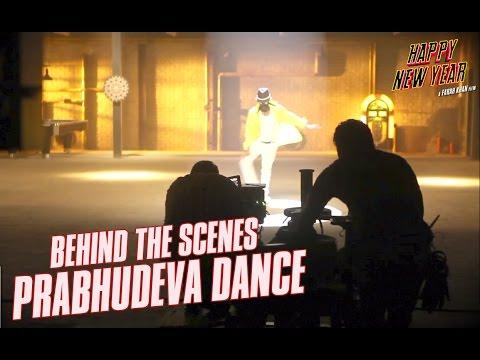 Happy New Year: Behind the Scenes Prabhudeva Dance   Shah Rukh Khan   Abhishek Bachchan