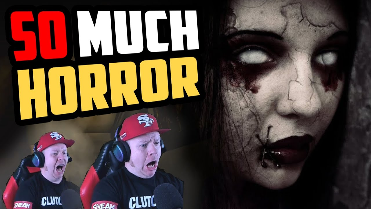 This horror game made me **** Myself LIVE...