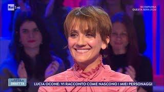 """Lucia Ocone: """"L'ironia ti salva la vita"""" - La Vita in Diretta 11/12/2017"""