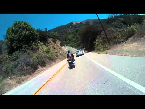 Group Ride on PCH Through Big Sur