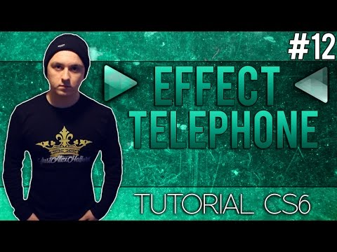 how to make the telephone effect in adobe audition cs6 tutorial 12 youtube. Black Bedroom Furniture Sets. Home Design Ideas