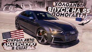Audi S5/S4 B9 Холодный впуск помогает? Полная Установка. Открыл дилершип в США.