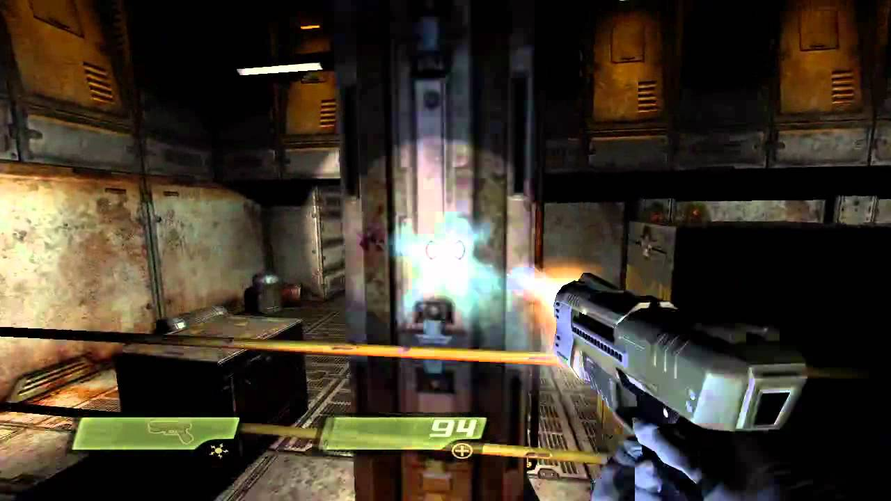 Quake 4 Xbox 360 Gameplay Youtube