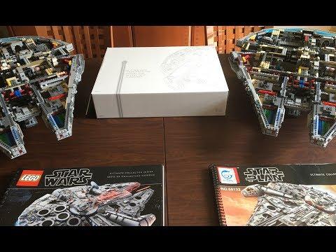 Lego #75192 vs Lepin 05132 UCS Millennium Falcon Part Three