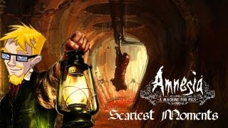 AMNESIA: A MACHINE FOR PIGS | SCARIEST MOMENTS/REACTIONS COMPILATION!