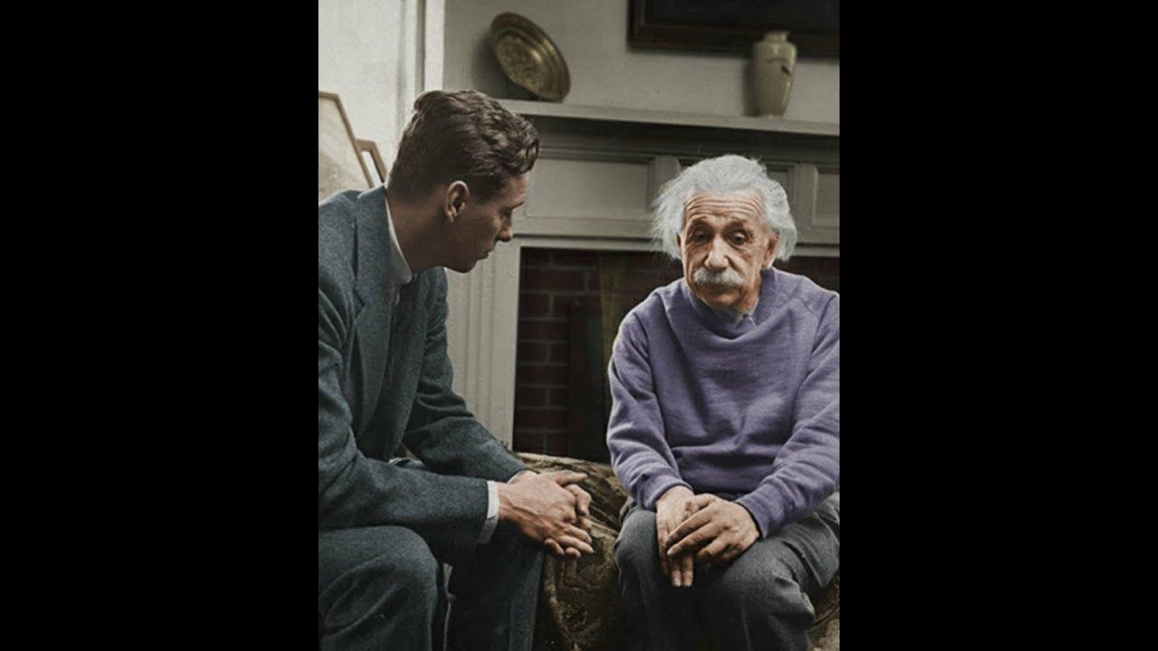 The Real Interview With Albert Einstein |  Radio Interview Einstein In USA | Real Voice Of Einstein