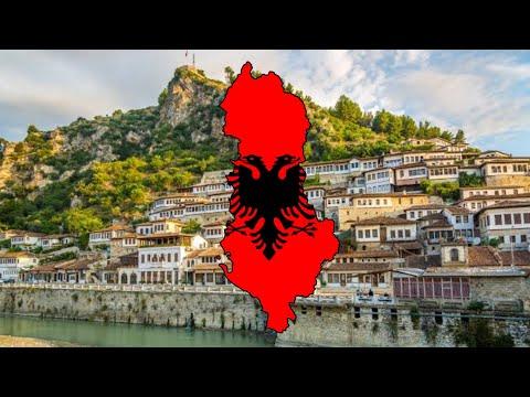 Albania - 🏴Flag Map Speed Art✏️