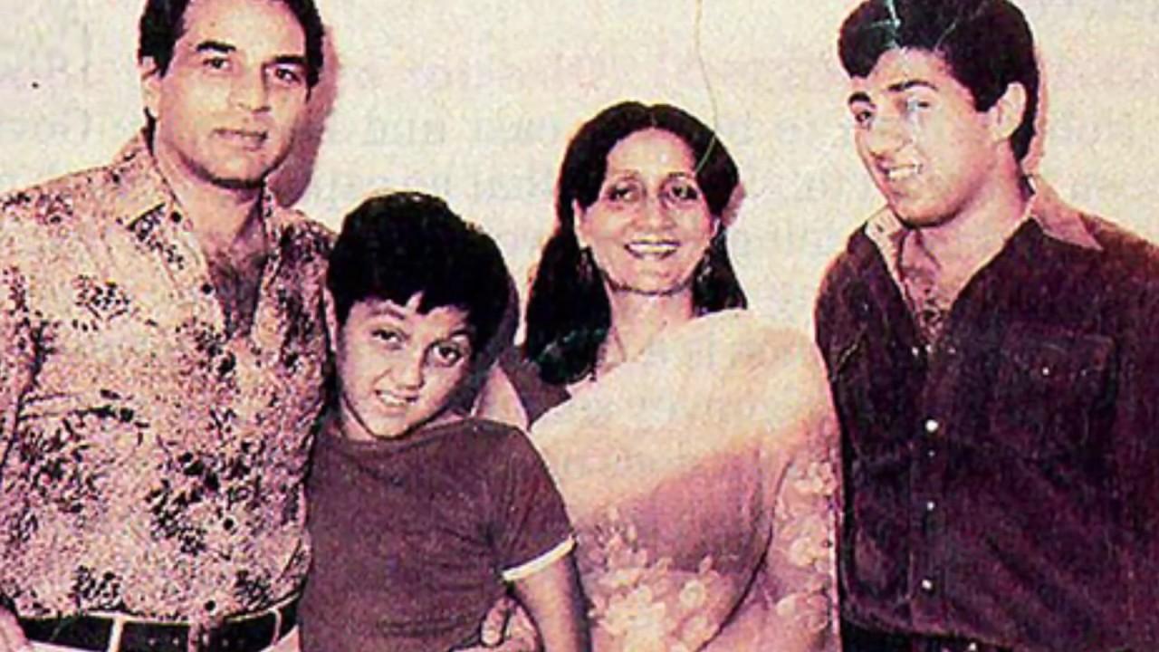 Image result for sunny deol childhood
