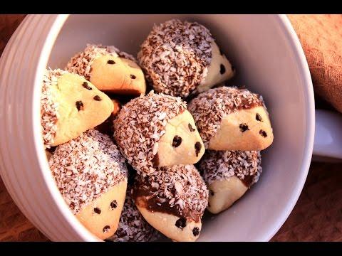 Ježići - keks sa čokoladom i kokosom