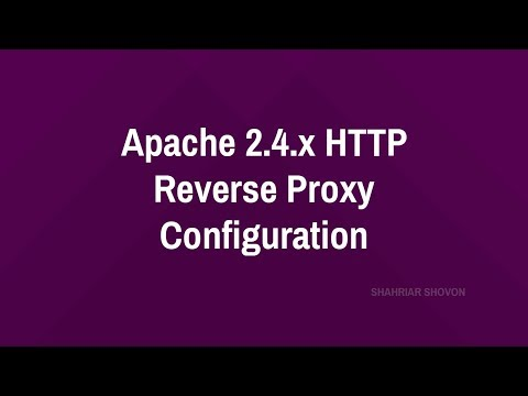 A Complete Guide to Apache 2.4.x HTTP/HTTPS Reverse Proxy