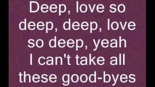"E-17 ""Each time"" lyrics on screen"