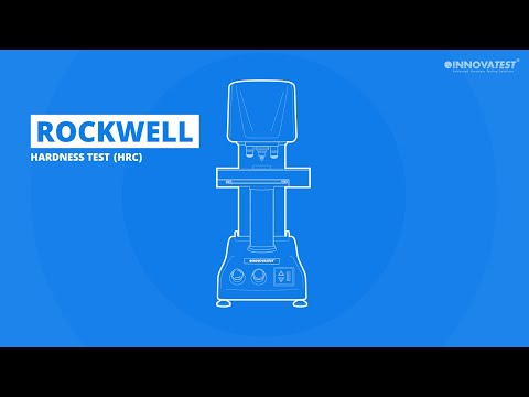 Rockwell hardness scale (HR)